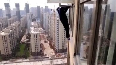 Photo of الصين : مطاردة لص تتحول لعملية طارئة لإنقاذه ( فيديو )