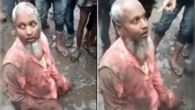Photo of الهند : جماعة متطرفة تجبر مسلماً على أكل لحم الخنزير أمام الناس ( فيديو )