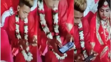 """Photo of عريس هندي يلعب """" فورتنايت """" في ليلة زفافه ! ( فيديو )"""