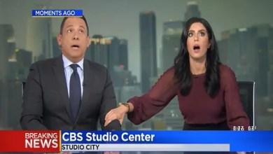 Photo of رد فعل عجيب على الهواء من مذيعة أمريكية لحظة زلزال كاليفورنيا العنيف ( فيديو )