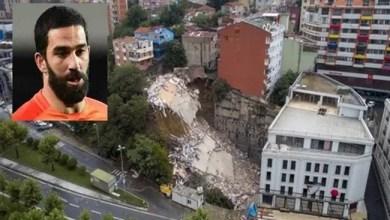 صورة مقاضاة أردا توران بسبب انهيار مبنى في إسطنبول