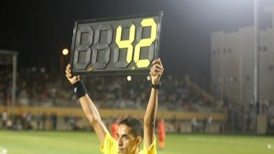 صورة 42 دقيقة وقت بدل ضائع في مباراة بدوري قطاع غزة !