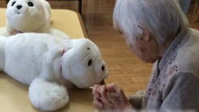 "Photo of اليابان تستخدم "" روبوتات "" لرعاية المسنين"