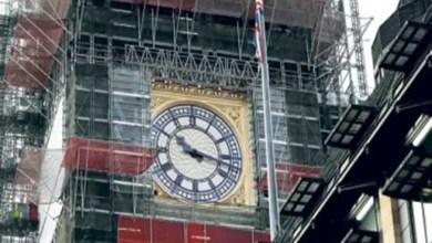 """Photo of ساعة """" بيغ بن """" تدق من جديد في ليلة رأس السنة وسط أعمال ترميم"""