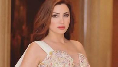 "Photo of الفنانة نسرين طافش ترقص "" سالسا "" مع مدربها ( فيديو )"