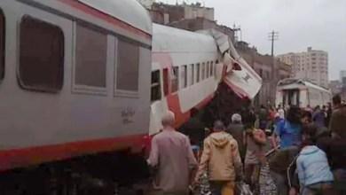 Photo of مصر : تصادم قطارين في القاهرة يخلف عدة جرحى