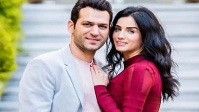 Photo of النجم التركي مراد يلدريم و زوجته المغربية إيمان الباني ينتظران طفلهما الأول