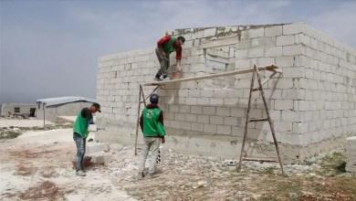 Photo of آلاف المنازل المؤقتة الجديدة للنازحين في إدلب