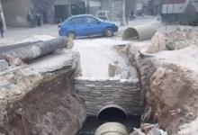 صورة إيران تشارك بمعالجة الصرف الصحي في سوريا