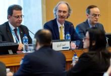 """صورة هكذا رد المبعوث الدولي على أحد أعضائها .. فضيحة جديدة لـ """" لجنة بشار الأسد الدستورية """" التي تعتبرها الأمم المتحدة مدخلاً للحل في سوريا"""