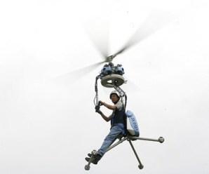 Tek kişilik helikopter