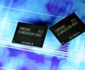 Samsung 32 GB moviNAND ile kapasite sorununu unutun