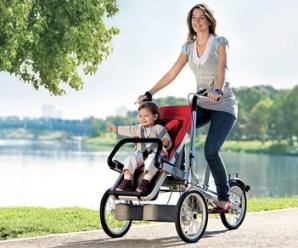 Bisiklet Bebek Arabası