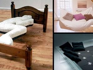 Sıradışı Yatak Tasarımları