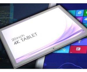 Tablet PC'lerde Yüksek Çözünürlükte 4K Ekran Dönemi Pek Yakında Başlıyor.