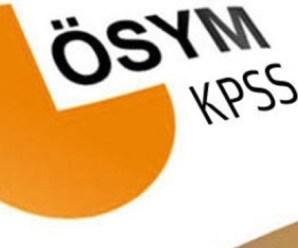 KPSS Sınav Giriş Belgeleri 2016
