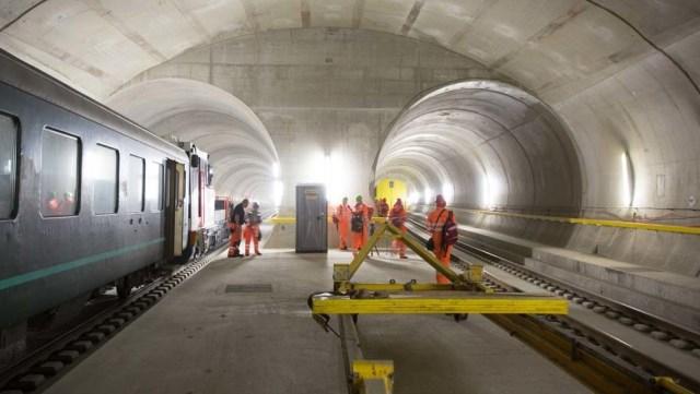 Dünyanın En Uzun ve En Derin Tüneli Gotthard Base Tüneli