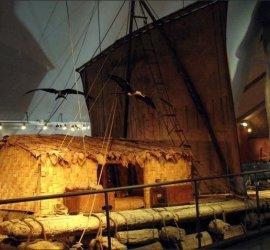 raft in museum