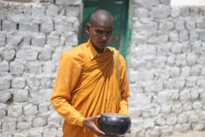 indian buddhist monk
