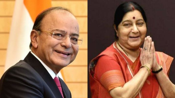 Arun Jaitley and Sushma Swaraj