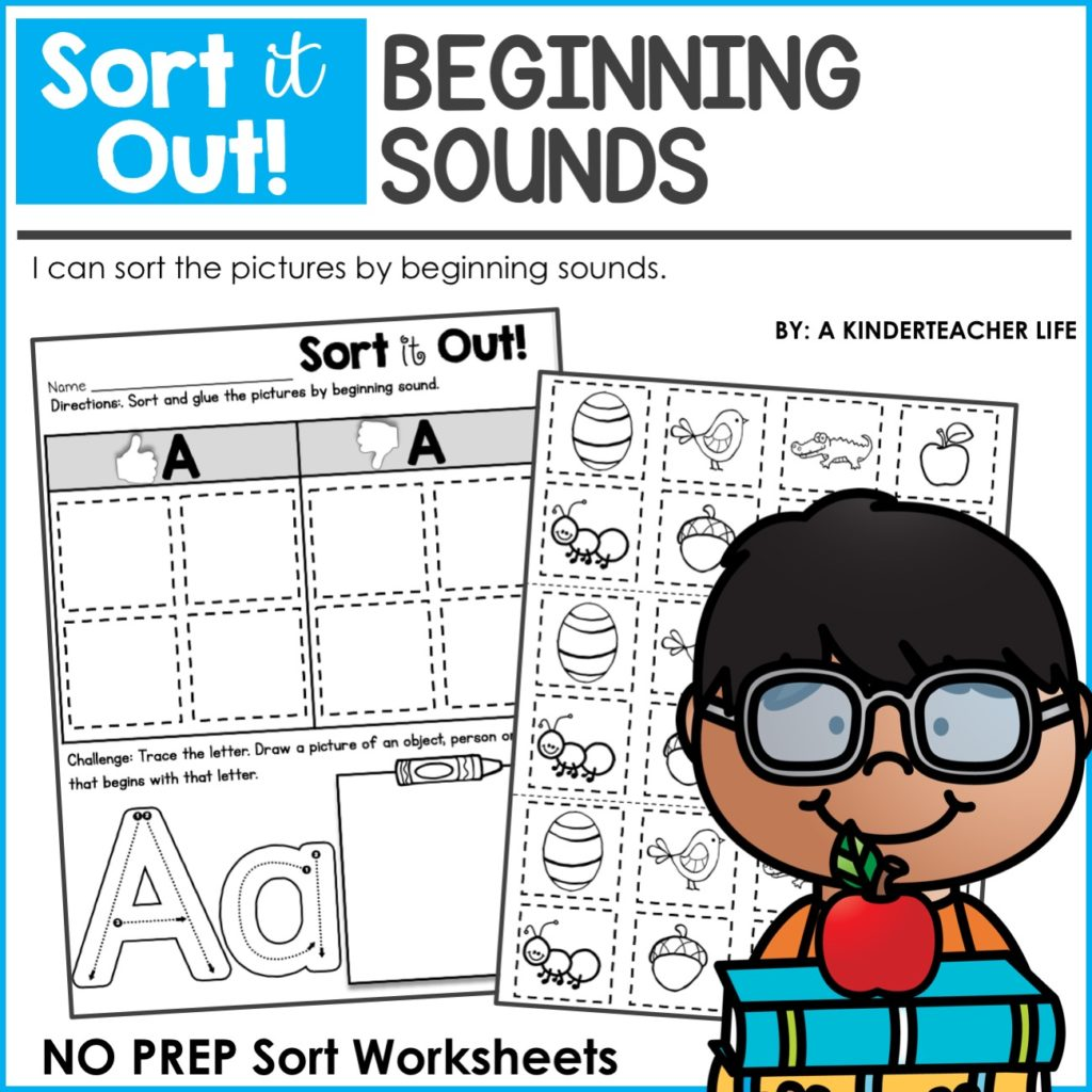 G Sound Sort Free Worksheet