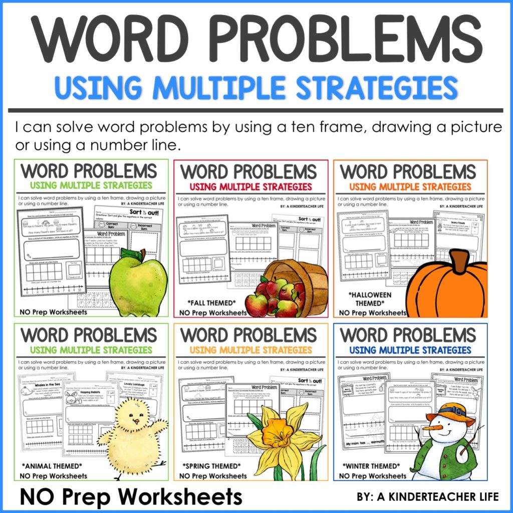 Strategy For Solving Word Problems Mixed Word Problems
