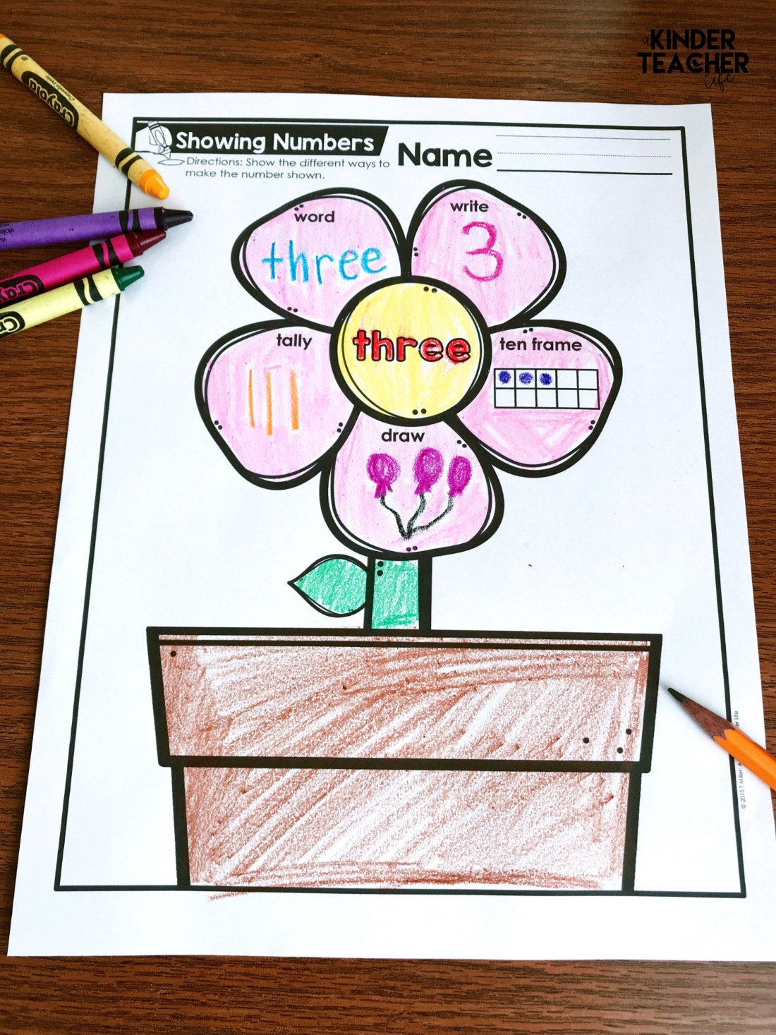 Representing Numbers Different Ways Printables Freebie