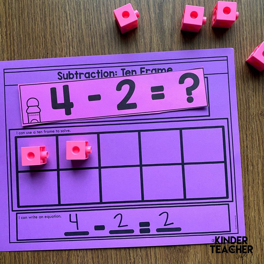 Subtraction Math Center Activities And Digital Games For