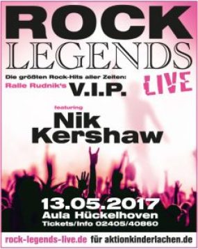 Nik Kershaw Rock Legends Live