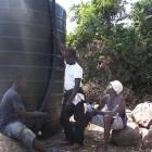 Anschluss der Wassertanks