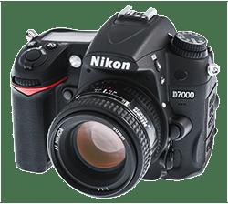 Nikon D7000 mit 50 mm Objektiv