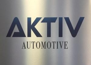 AKTIV silver sign