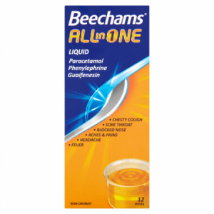 Buy Beechams All In One Syrup 160ml online