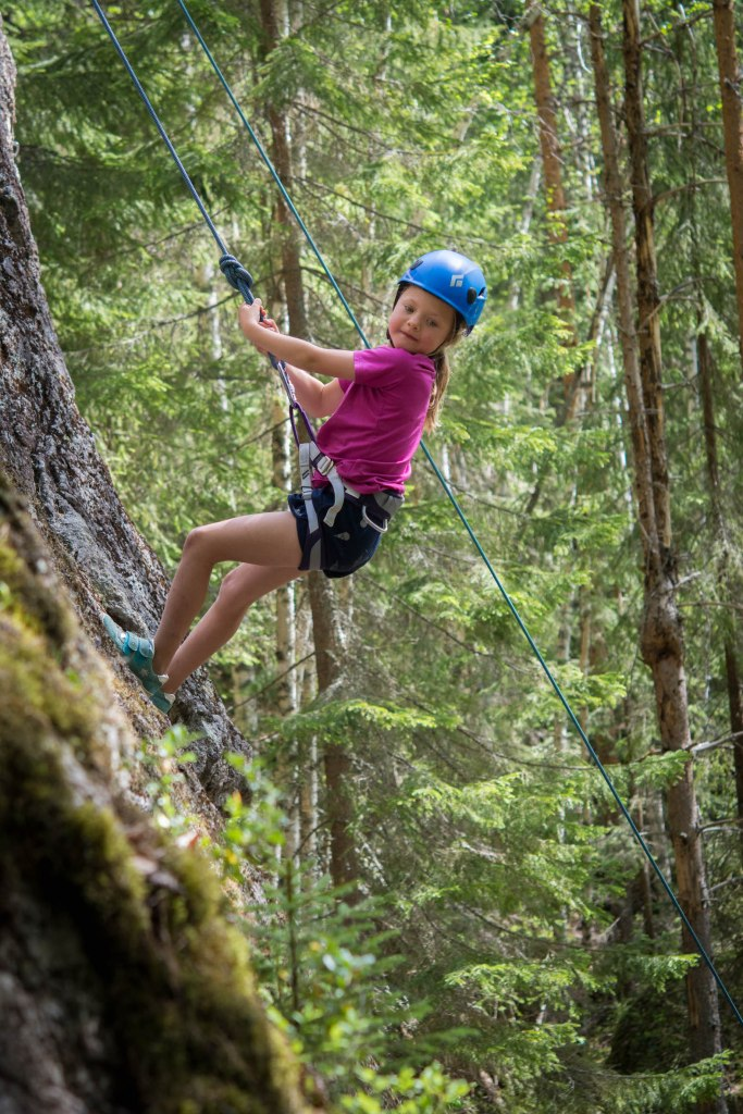 klättrade barn