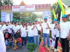 PT Perusahaan Gas Negara Tbk (PGN) menjalankan program Badan Usaha Milik Negara (BUMN) Hadir Untuk Negeri dengan menggelar kegiatan Jalan Sehat dan Bersih Lingkungan, di Kota Pekanbaru, Riau pada hari Minggu (12/8).