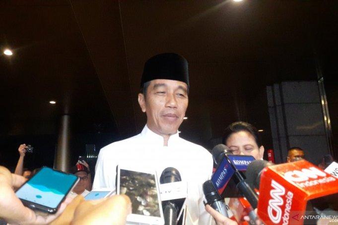 Jokowi pada debat capres putaran kelima