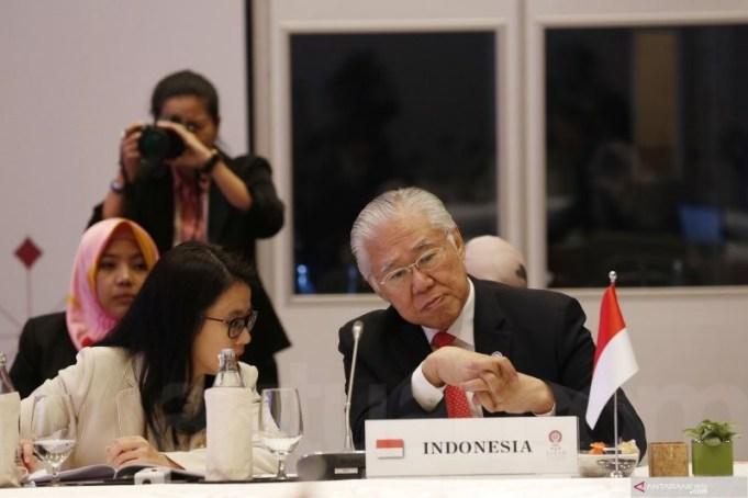 Menteri Perdagangan Enggartiasto Lukita saat KTT ASEAN ke-34 di Bangkok