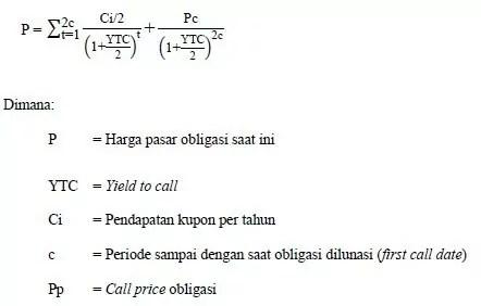 rumus perhitungan obligasi 2