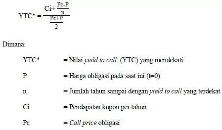rumus perhitungan obligasi 3