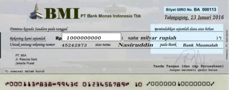 Pengertian,contoh jenis jenis Uang Kartal Dan Uang Giral
