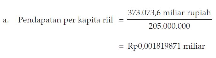 Pendapatan Perkapita [Pengertian, Rumus dan Contoh]