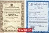 Perbedaan Saham dan Obligasi Secara Umum dan Contohnya