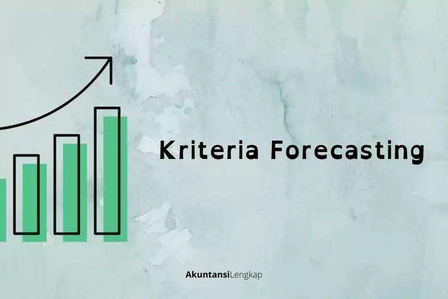 karakteristik forecasting