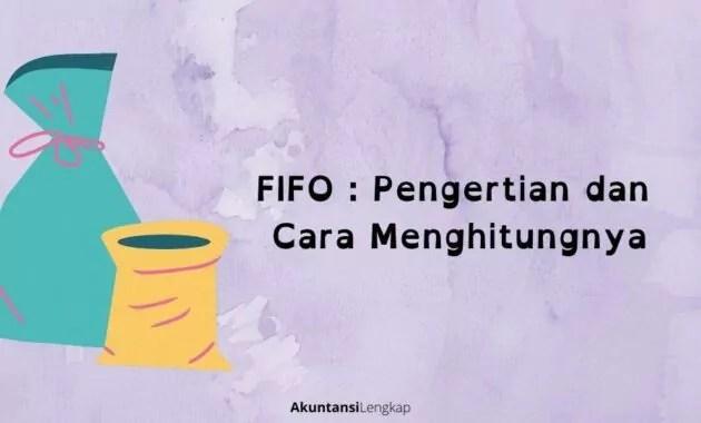 pengertian fifo