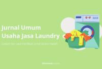 Jurnal Umum Usaha Jasa Laundry