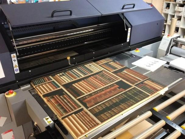 25 mm tykk tekstilkledd lyddempende bilde