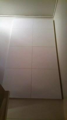 Forbedring av akustikken og taleoppfattelsen i trappeoppgang