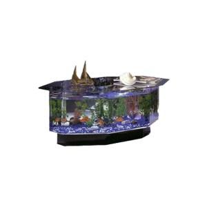 Aštuonkampis akvariumas – kavos stalas 680