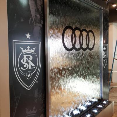 Nerudijancio pleinos vandens kriokliai Audi_Lounge Baras