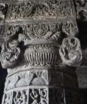 Details of pillar cave number 3